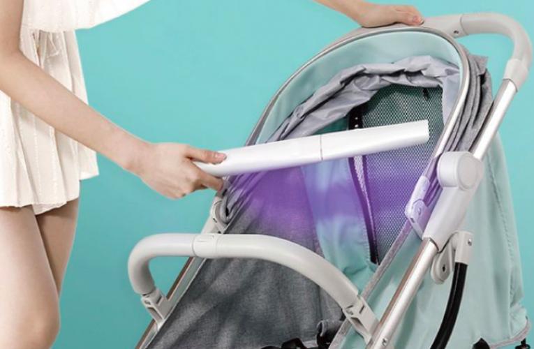 [新聞] 父母親必備嬰孩防疫用品推介 LED紫外線萬用消毒棒